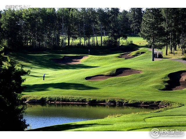 Colorado golf course building site