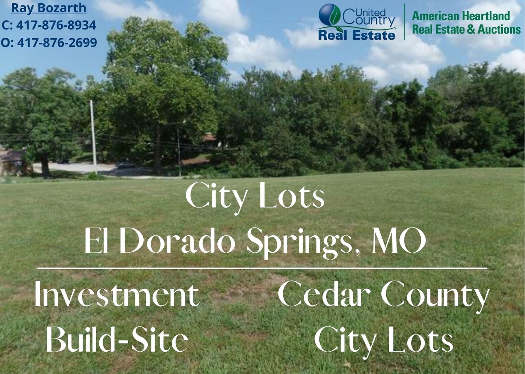 City Lots For Sale In Cedar County in Southwest Missouri