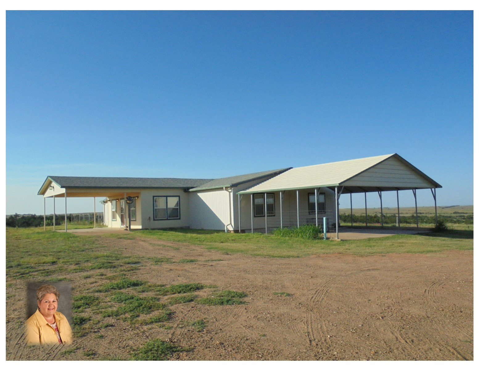 Country Home and Land for Sale Alva, OK