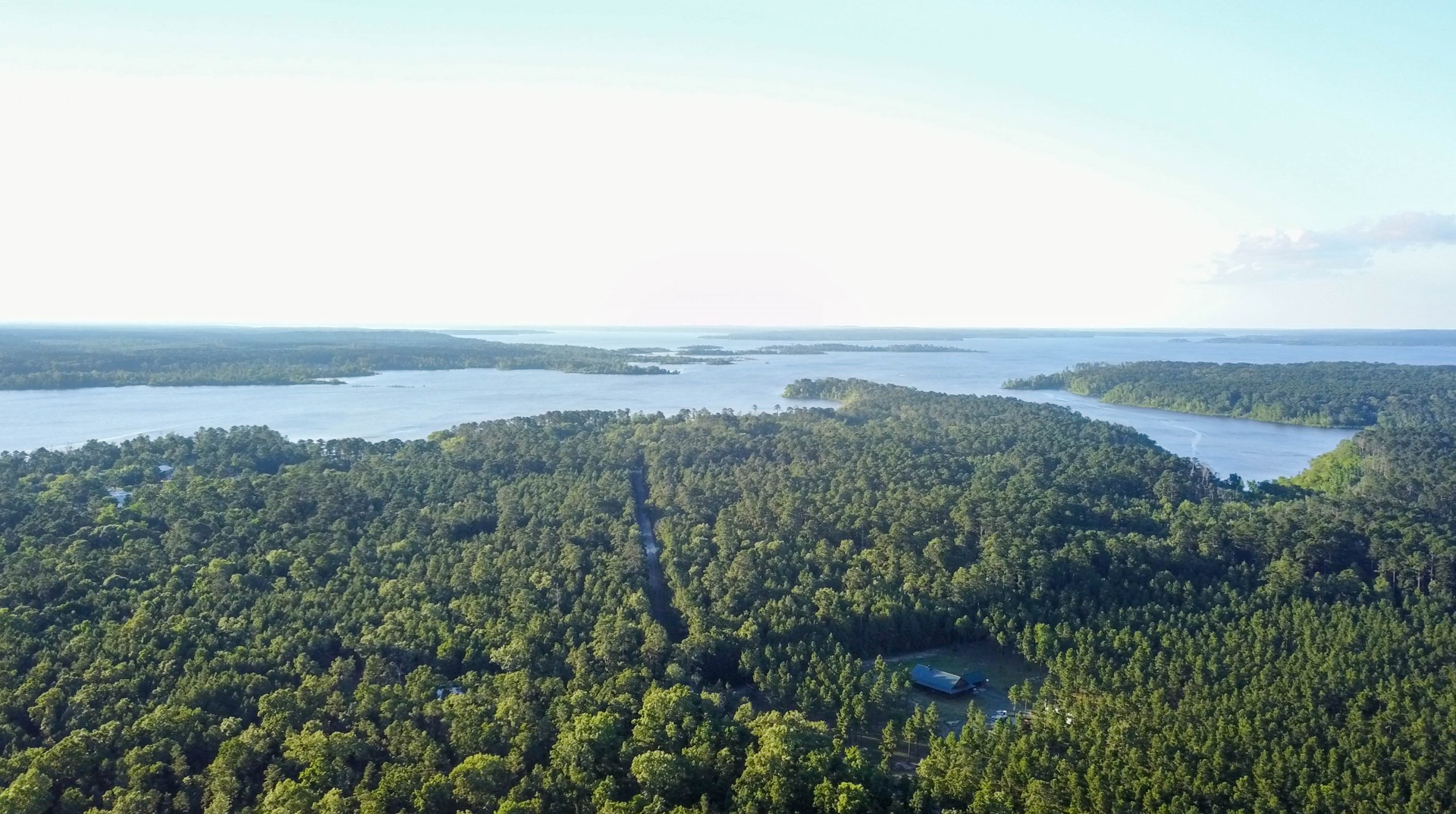 7.43 ACRES LAKE SAM RAYBURN LAND FOR SALE | HWY 147 FRONTAGE