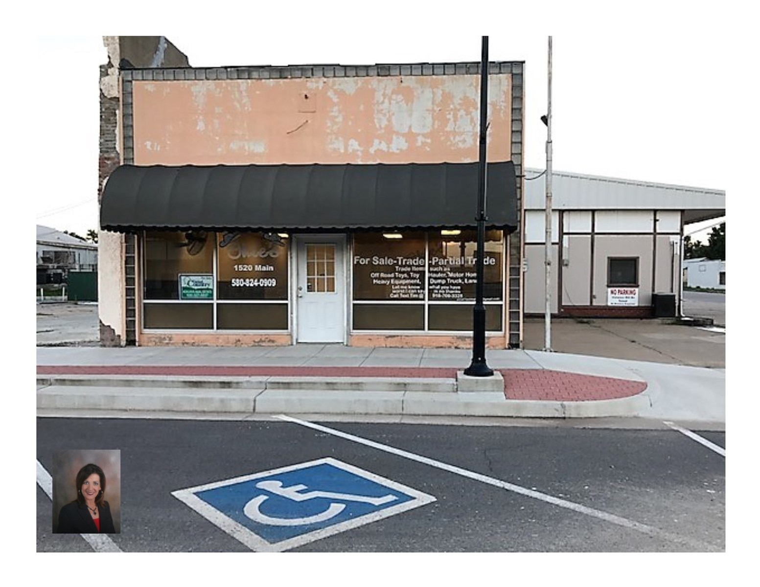 Commercial Building For Sale Waynoka, OK