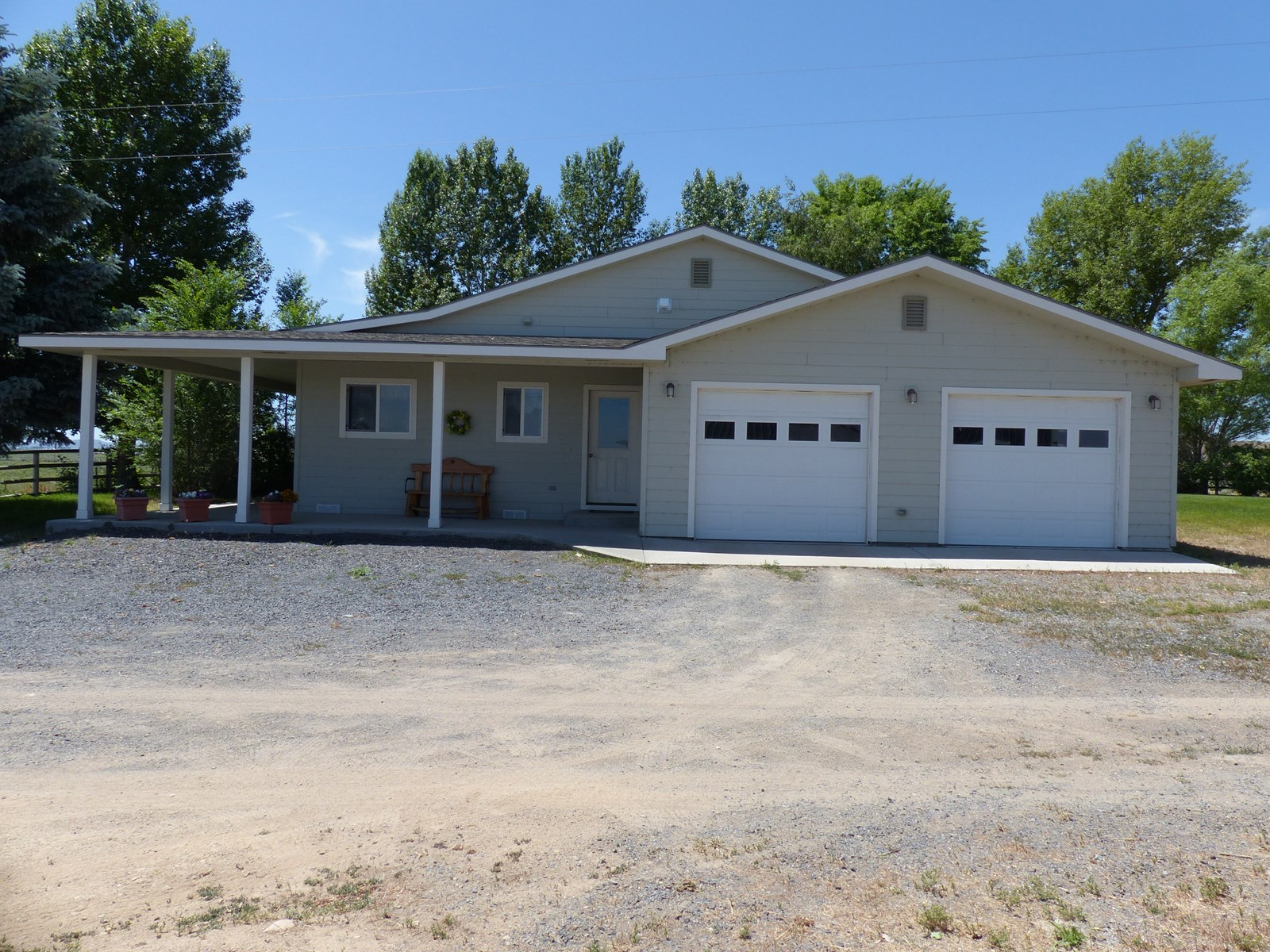 BURNS, OR -  318+/- ACRES - WATER RIGHTS - REMODELED HOME