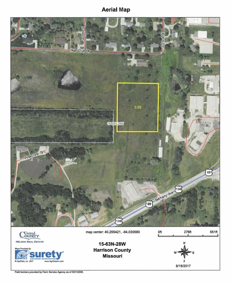 Lot For Sale in Bethany Missouri