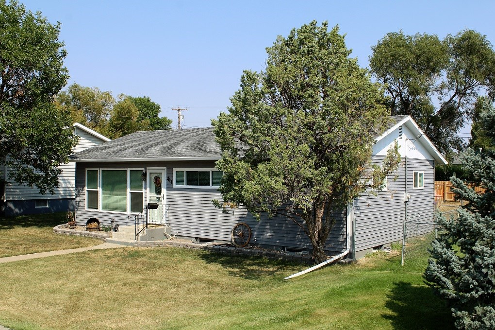 Home for sale in Glendive with many recent updates.