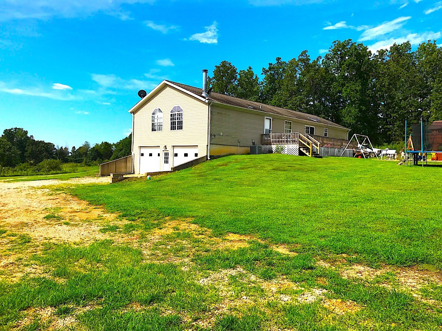 Farm With Large Home for Sale in the Ozarks