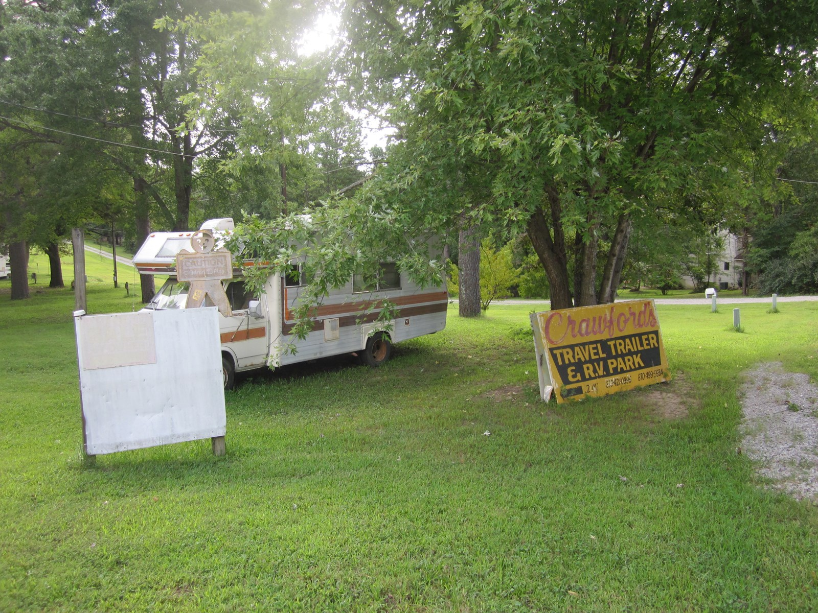 RV PARK FOR SALE NEAR LAKE NORFORK, ARKANSAS!