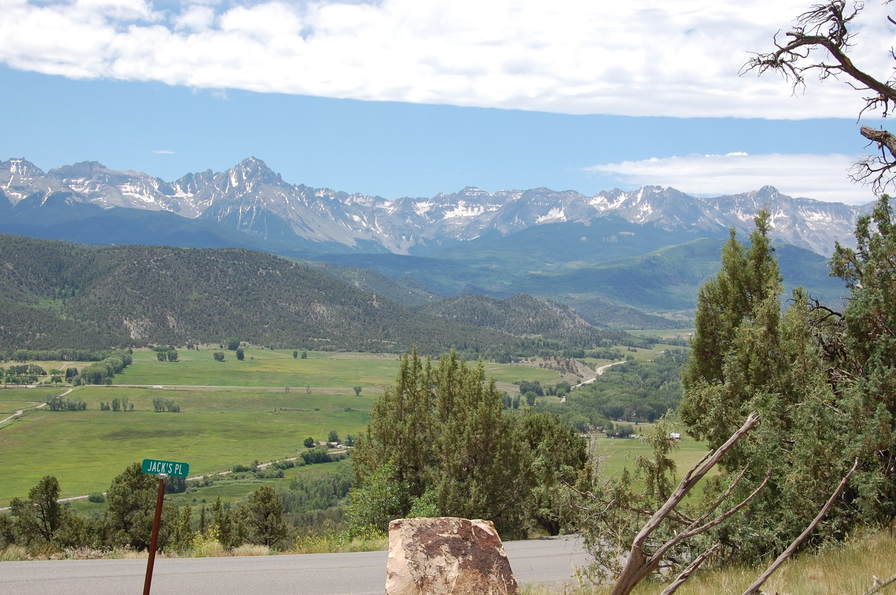 Cool Acreage Southwest CO Mountain Vacation Views For Sale