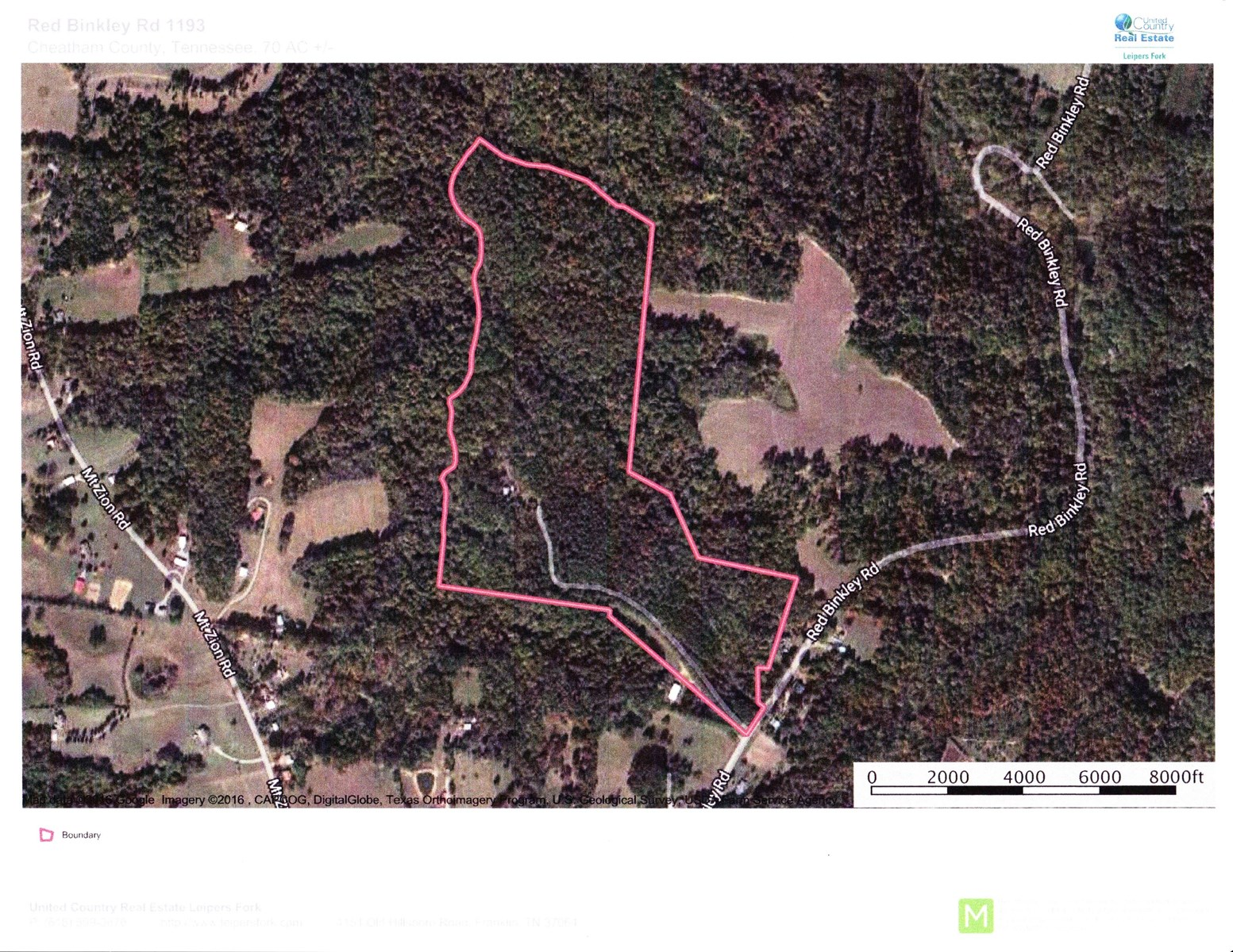 Acreage For Sale in Middle Tennessee