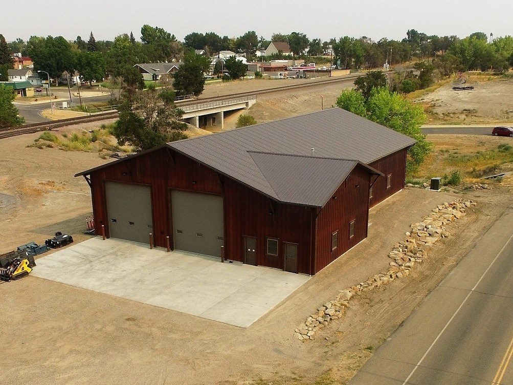 Custom Built 6500 sq' Shop for Sale in Glendive, Montana