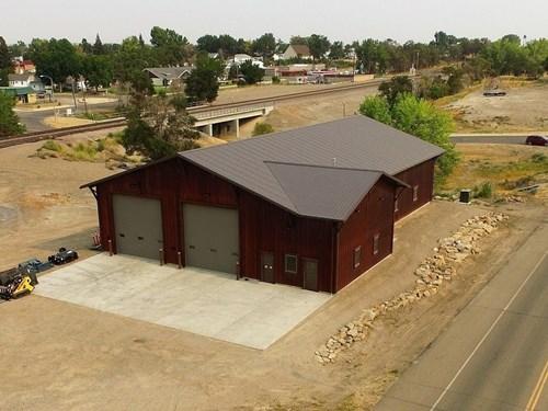 Custom Built 6500 sq' Shop for Sale in Glendive, Montana