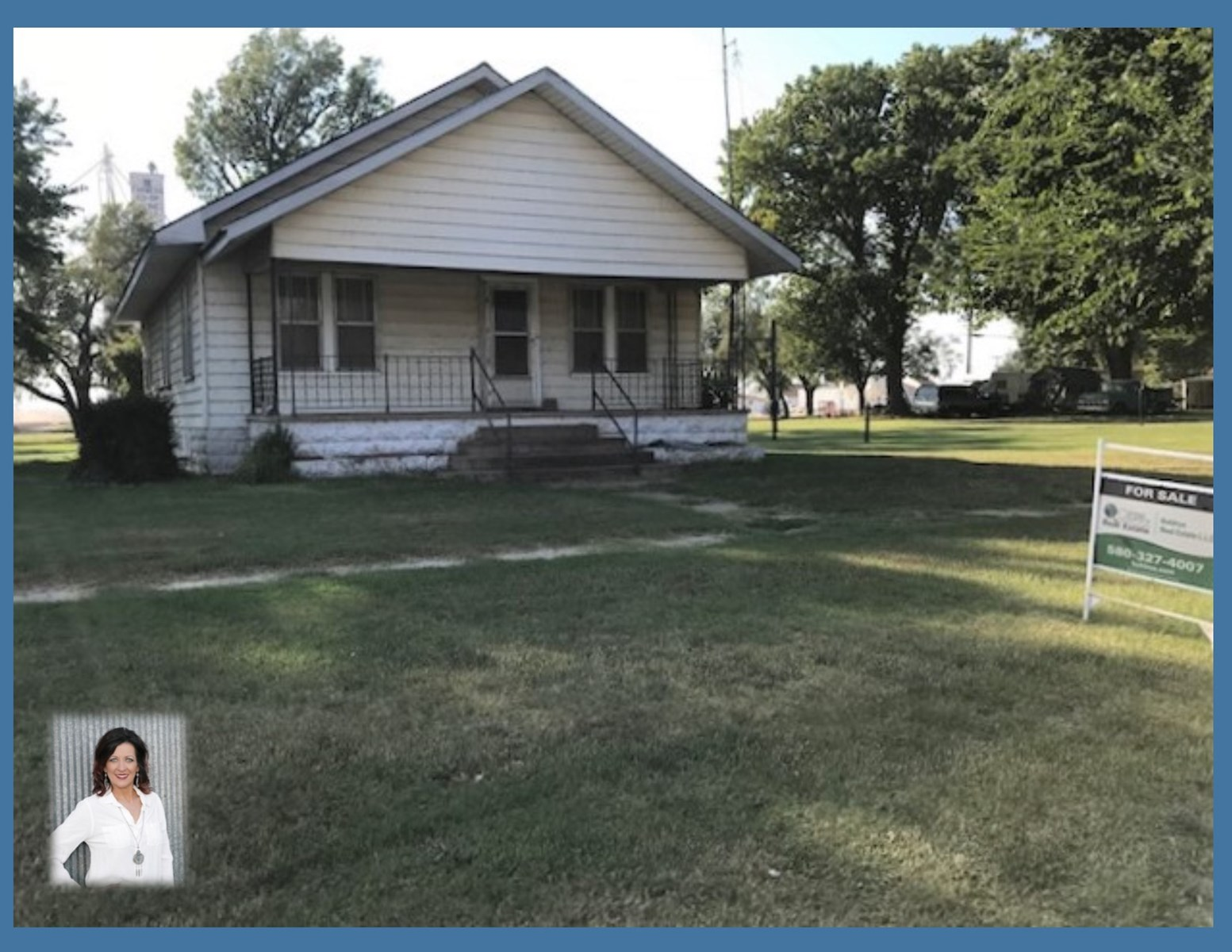 Aline, OK  Home for Sale