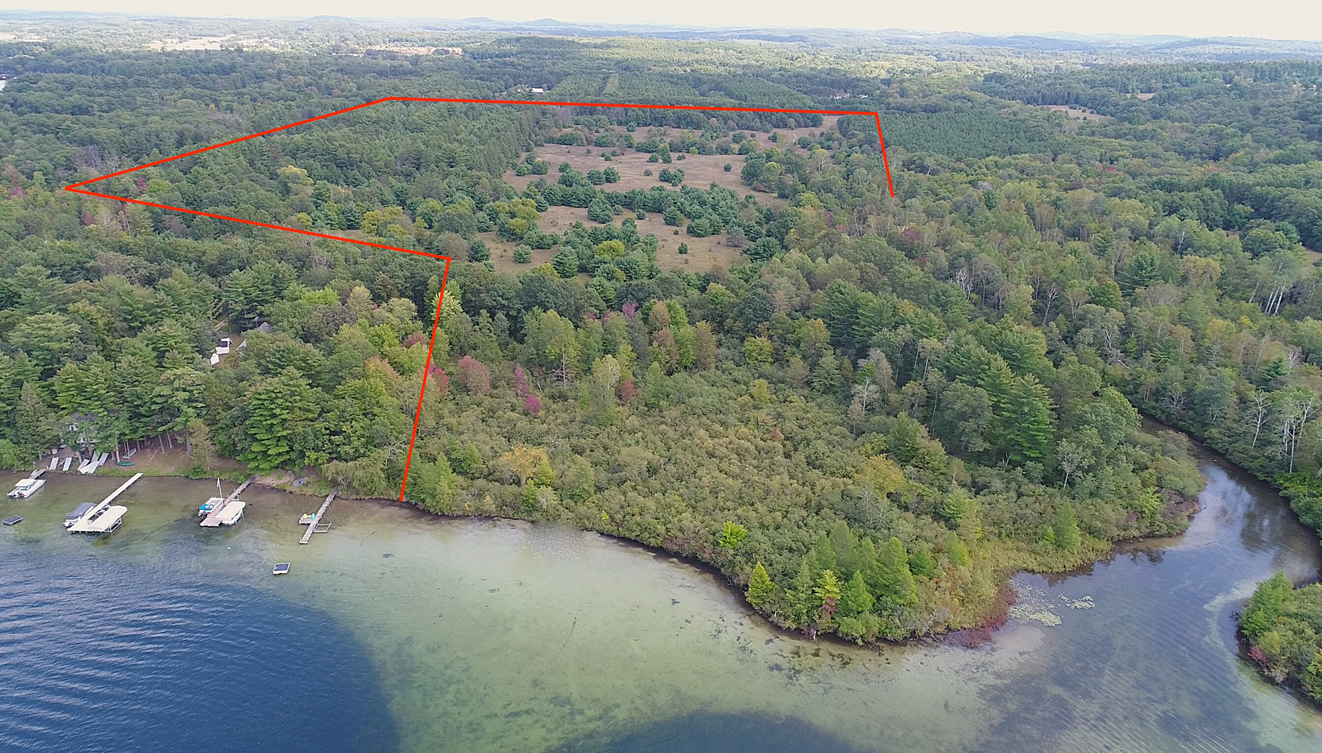 Chain O' Lakes Land for Sale Waupaca, WI - Development