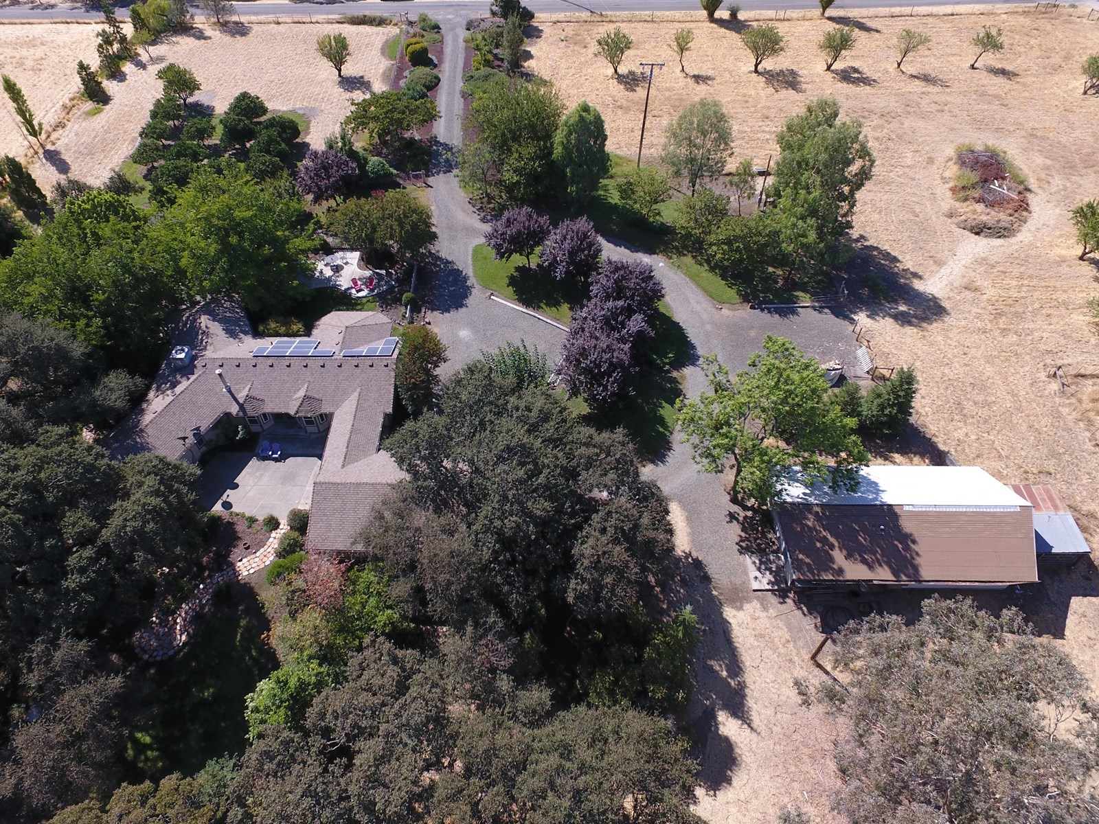Yolo County Acreage with Country Home For Sale
