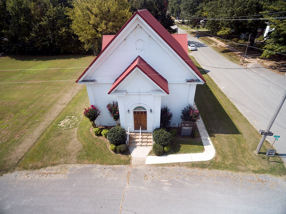 Historic Church Building For Sale in Small Town Tennessee