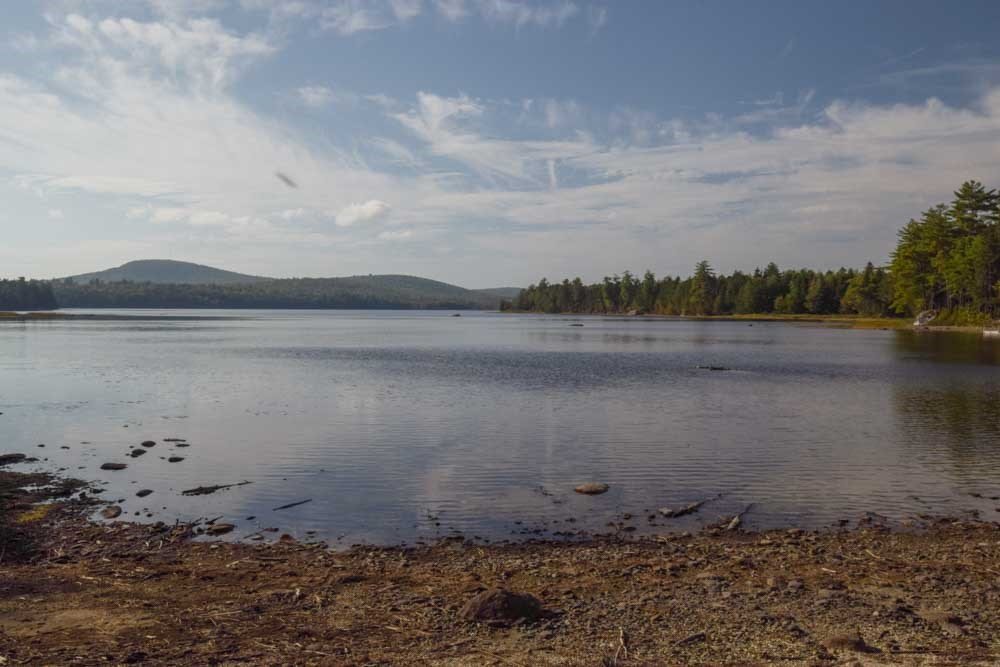 Maine Lakefront Lot for Sale in Lakeville