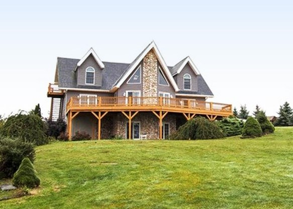 Luxury Country Home in PA Mountains of Tioga County for Sale