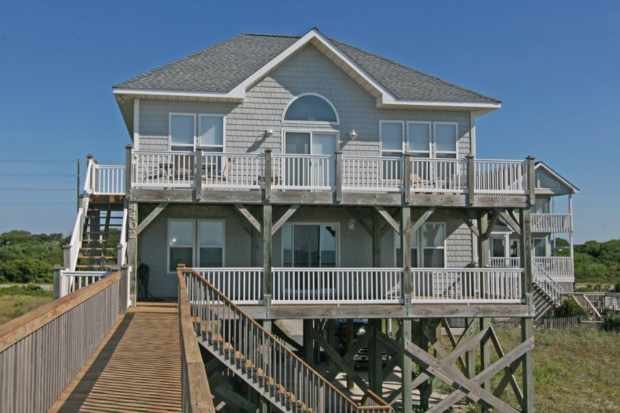 Waterfront Home for Sale on North Topsail Beach
