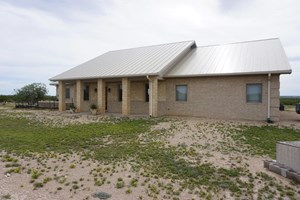 COUNTRY HOME NEAR FORT STOCKTON, TEXAS PLUS LAND