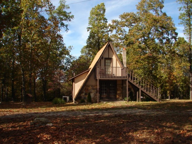 Country A Frame Style Home for sale Salem, Arkansas