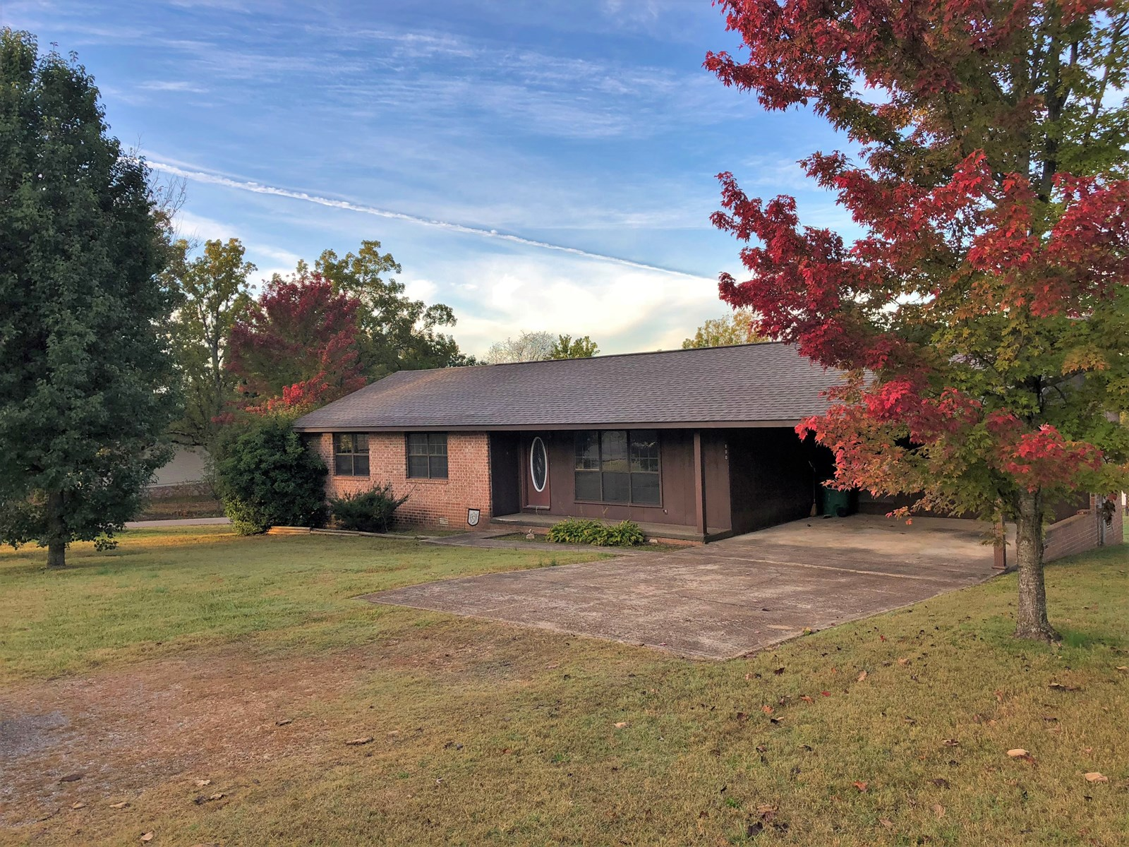 Country Brick Home For Sale In Marion County Seat Town