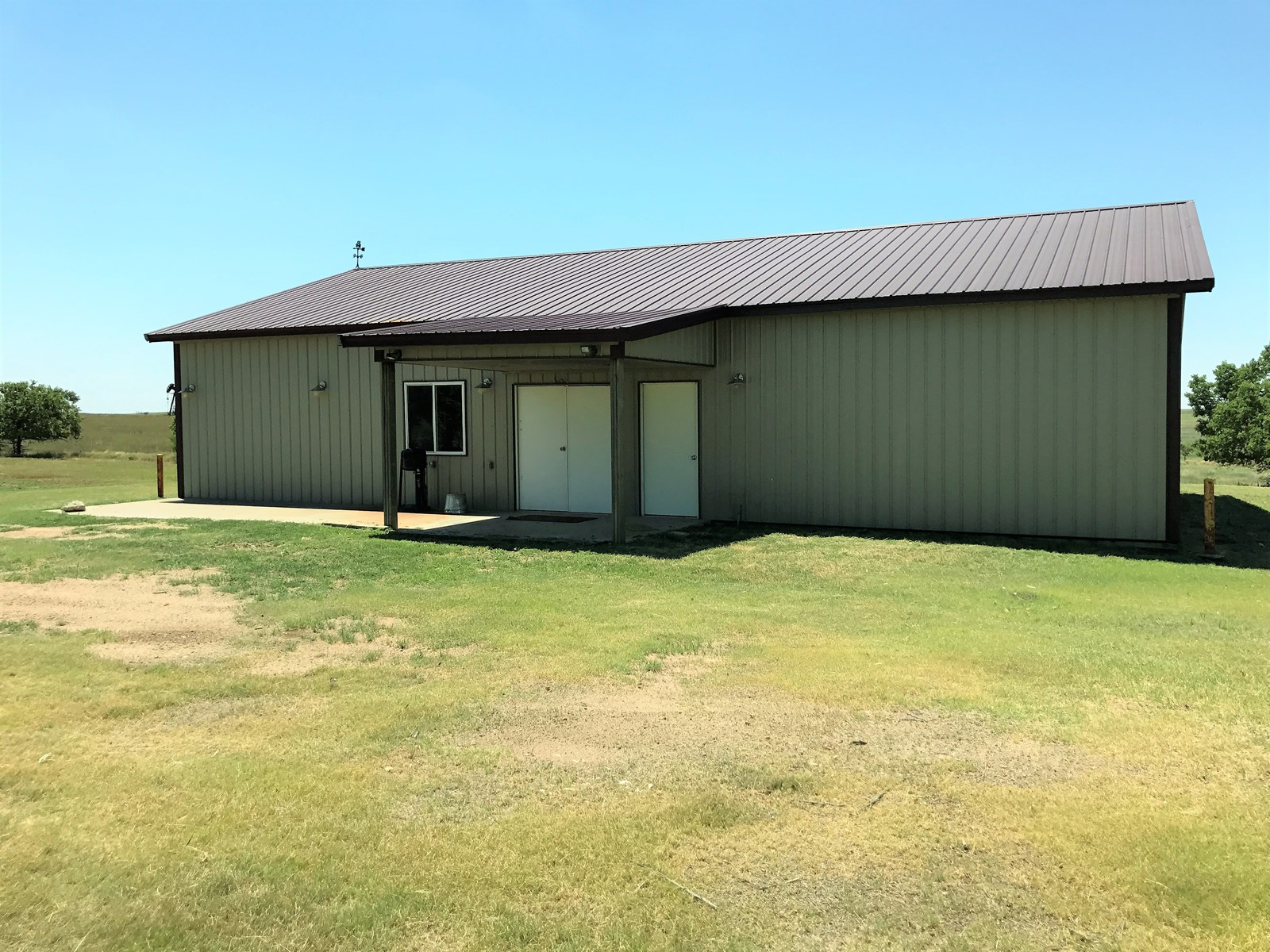 Kiowa County, Kansas Hunting Lodge on 5 Acres For Sale