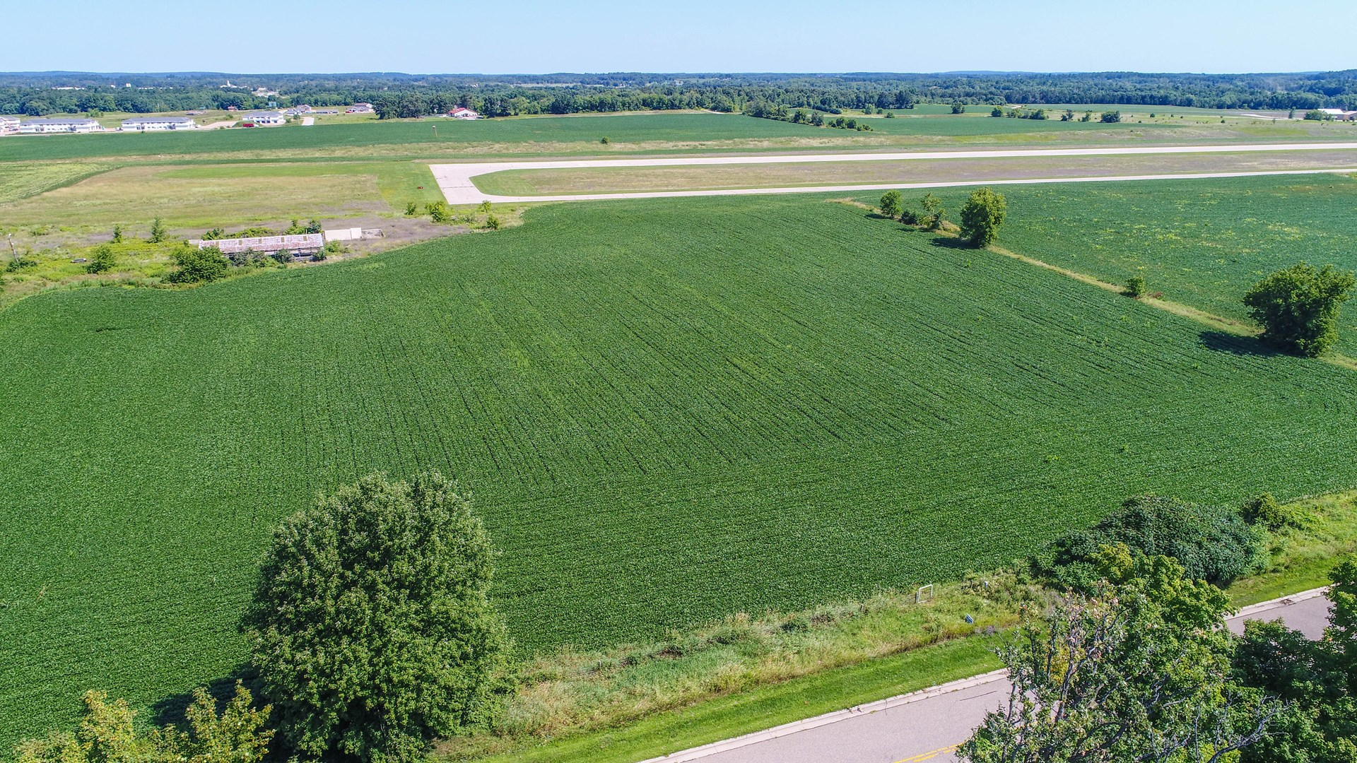 Acreage for Sale with Visibility from US Hwy 10 Waupaca WI