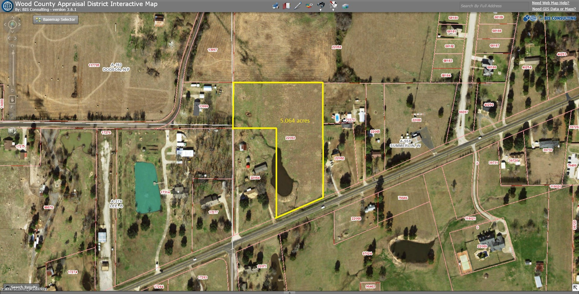 5 ACRES JUST OUTSIDE CITY LIMITS WINNSBORO, TEXAS