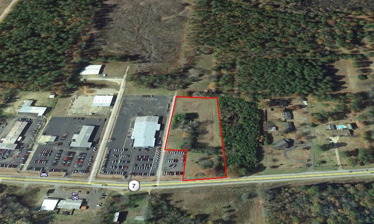 Commercial Acreage in the city of Arkadelphia, Arkansas