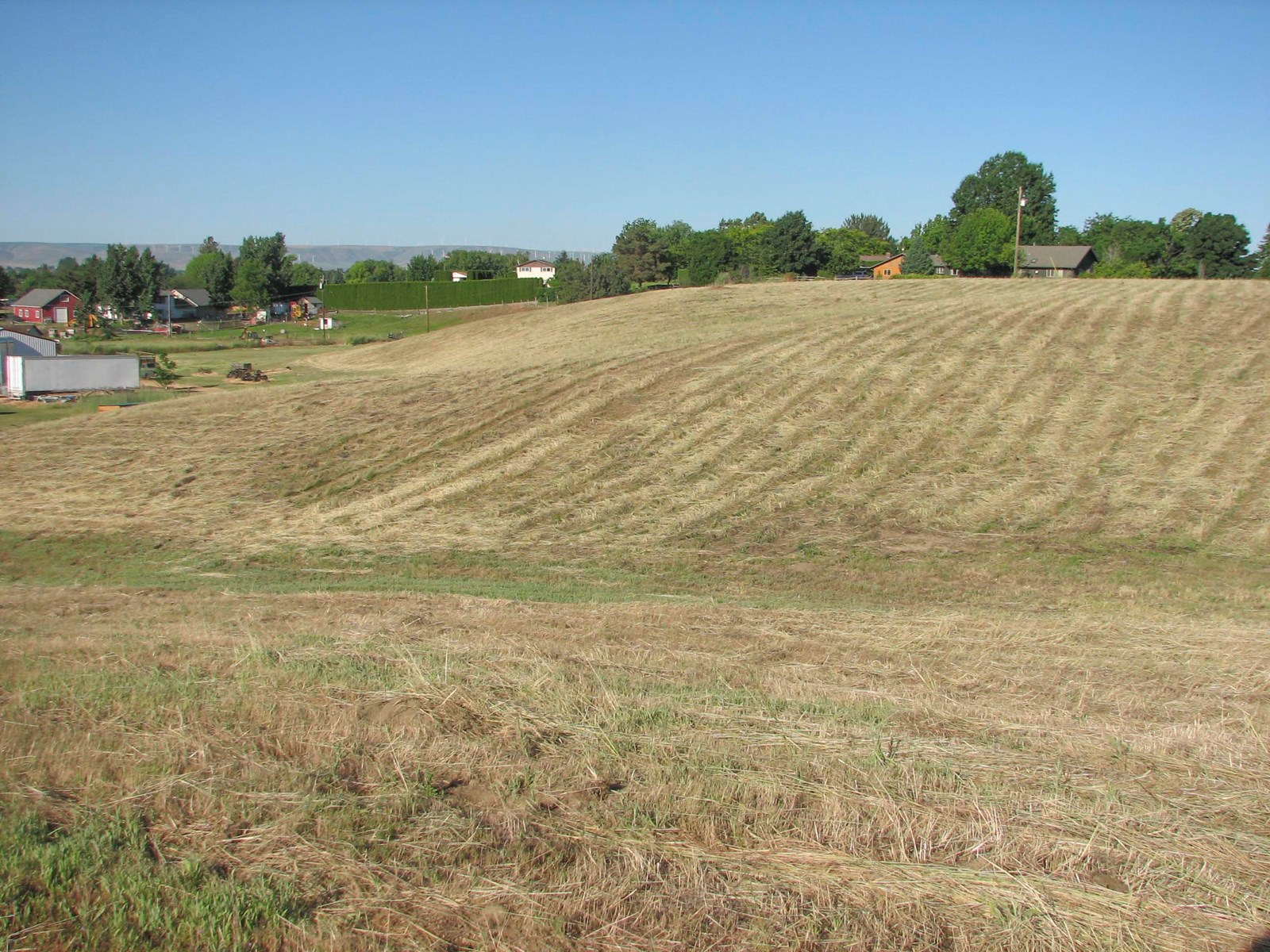 6 Acre View Lot For Sale Walla Walla - Heart of Wine Country