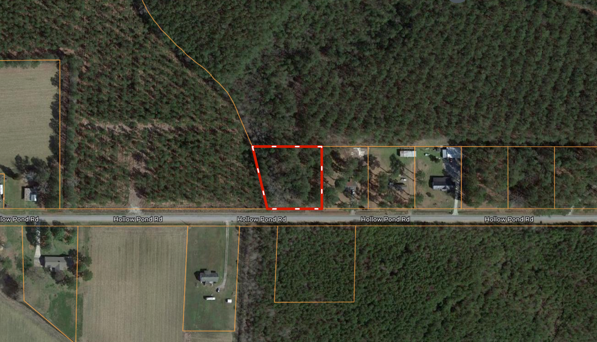 Martin County, NC Building Lot for Sale