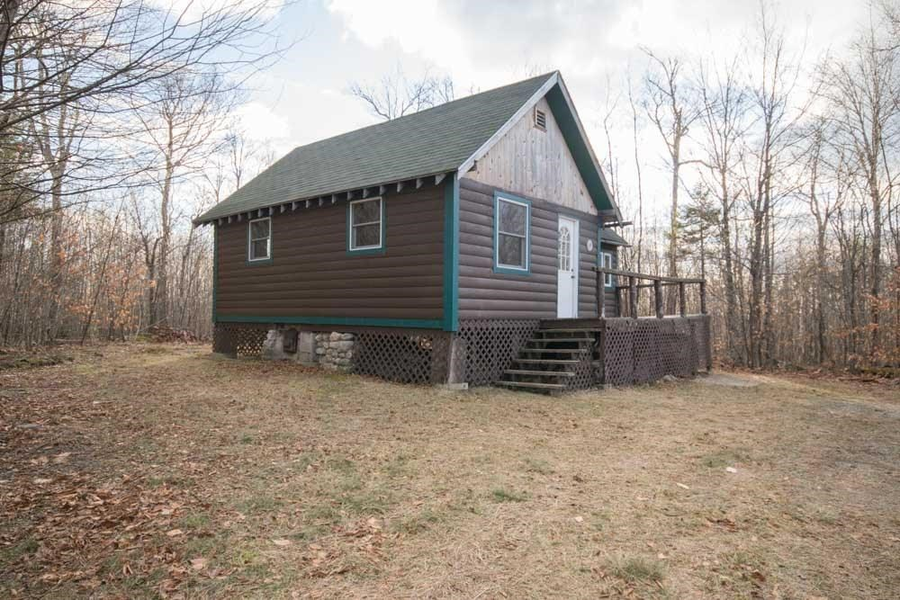 Maine Off-Grid Cabin for Sale in Lowell