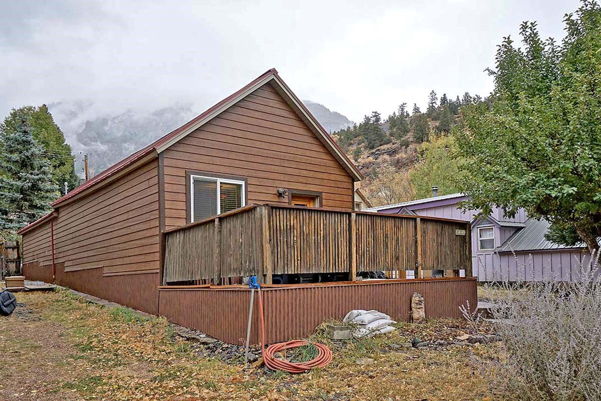 Ouray CO Mountain Vacation Investment View Home For Sale