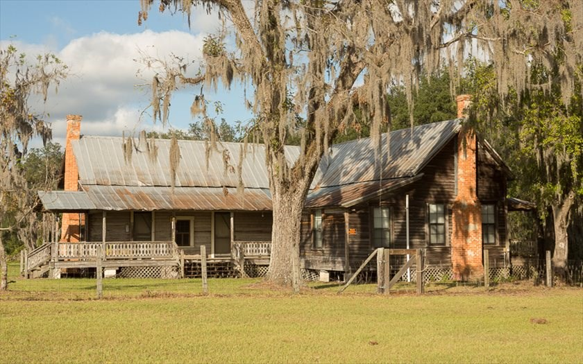 Old Florida Homestead For Sale in North Florida
