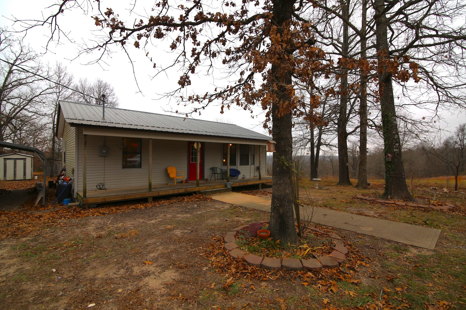 Home With Acreage Near Spring River in Arkansas
