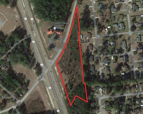 3.5+/- Undeveloped Acres for Residential OR Commercial Use!