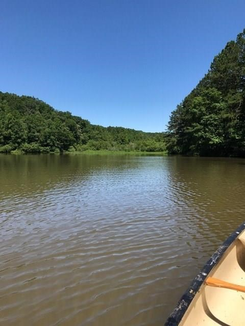 105 plus acres bordering 13 acre lake - Pickens County