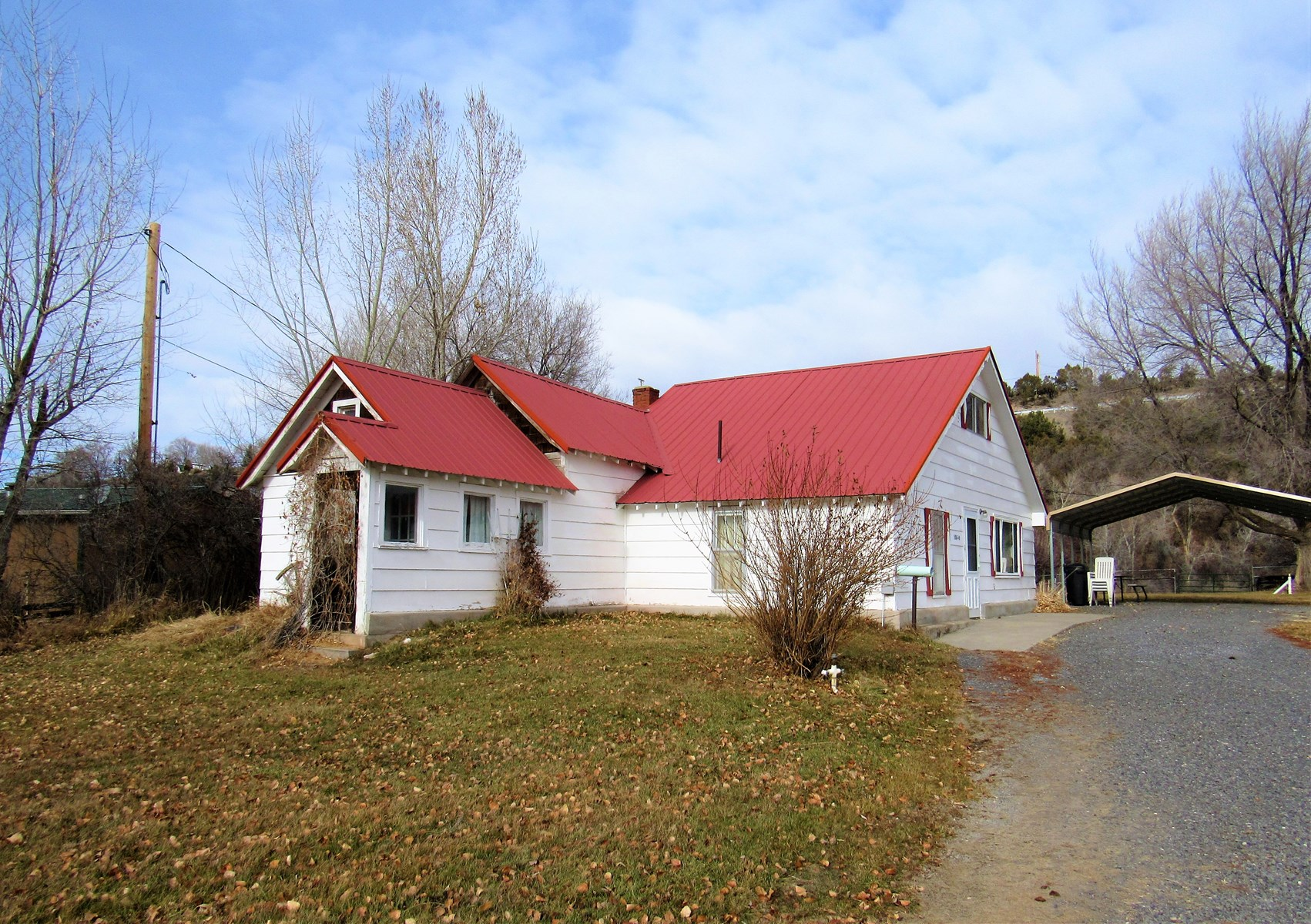 Charming Historic Farm House with acreage and creek frontage
