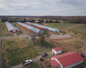 FLINTVILLE, TN, LINCOLN COUNTY POULTRY FARM 10.68 ACRES