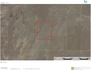 ACREAGE LOCATED IN CATLOW VALLEY IN SOUTH EASTERN OREGON