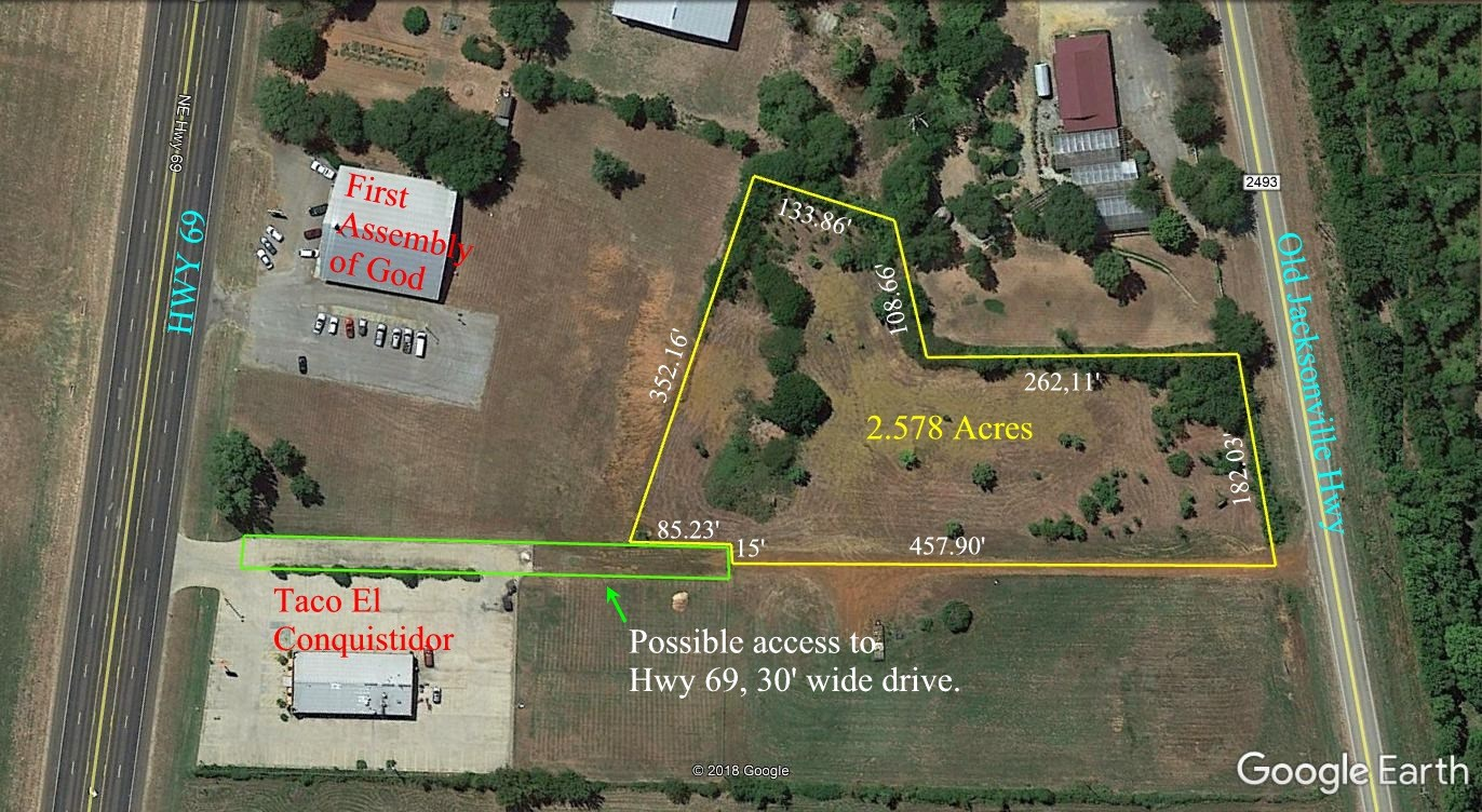 Commercial Land For Sale In Bullard, TX