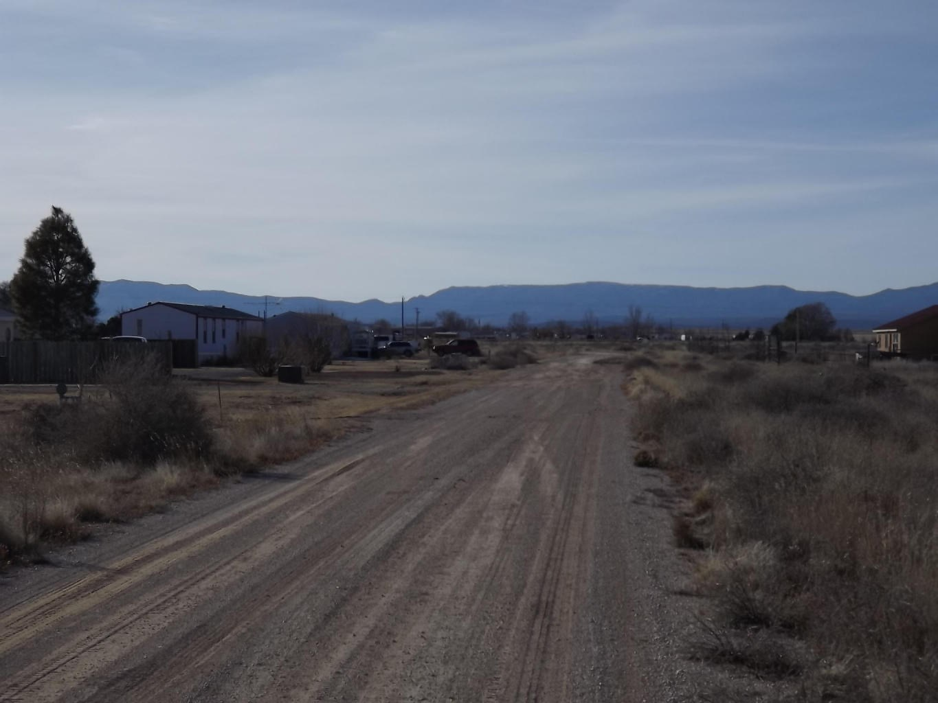 Estancia New Mexico 1 Acre Home Lot For Sale Power and Water