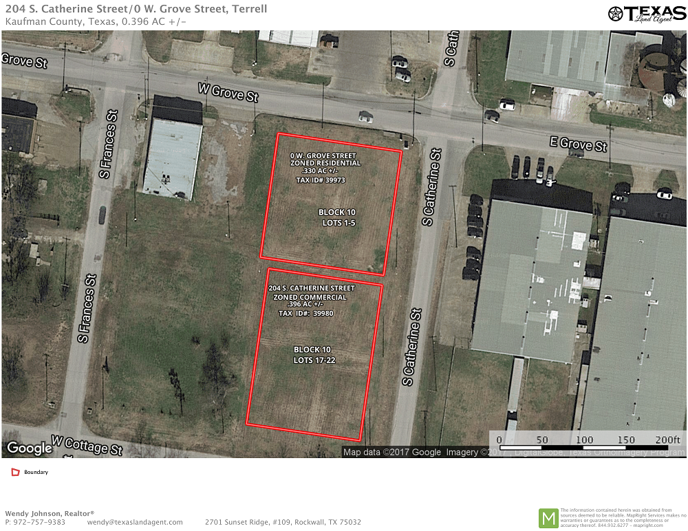 Land Lots For Sale in Terrell, Texas