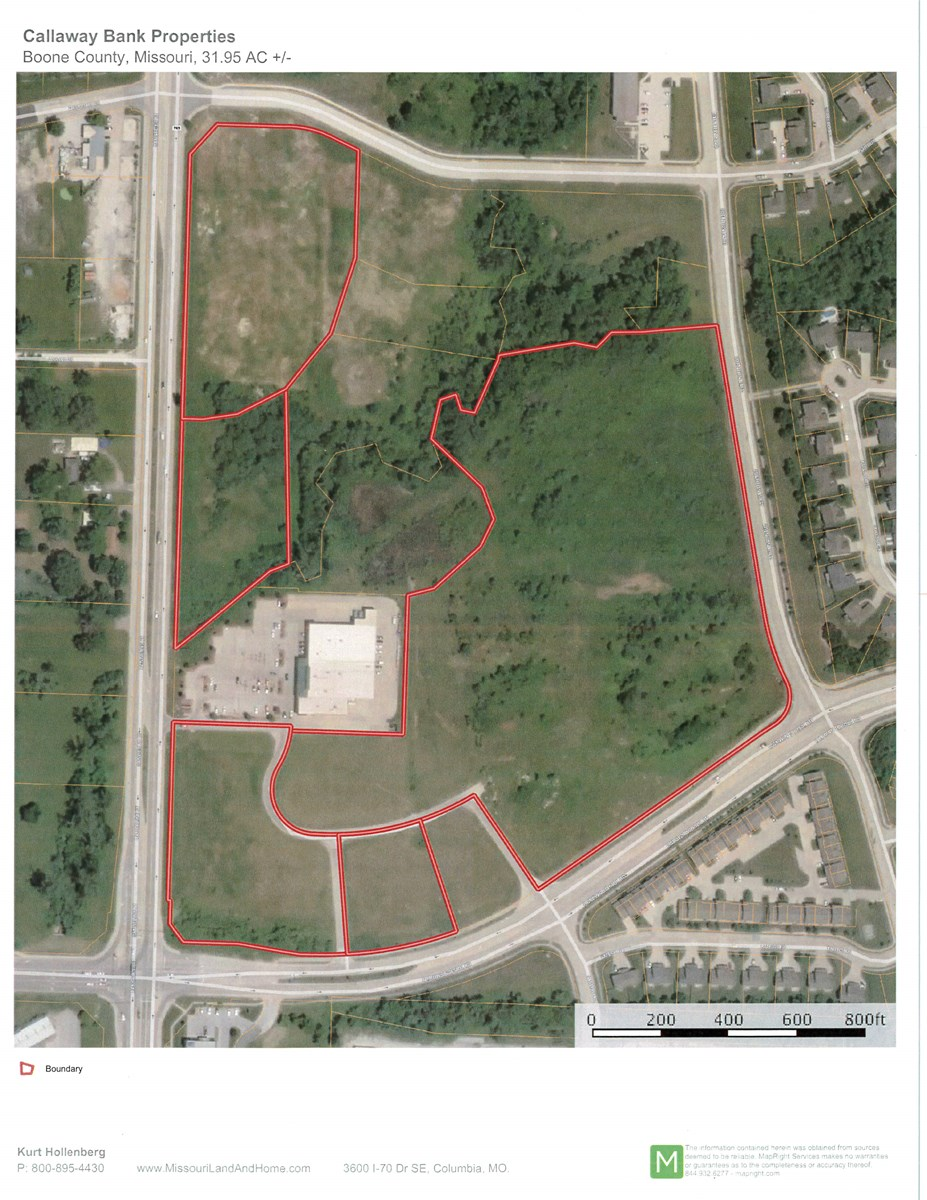Commercial Development Lots in North Columbia, MO