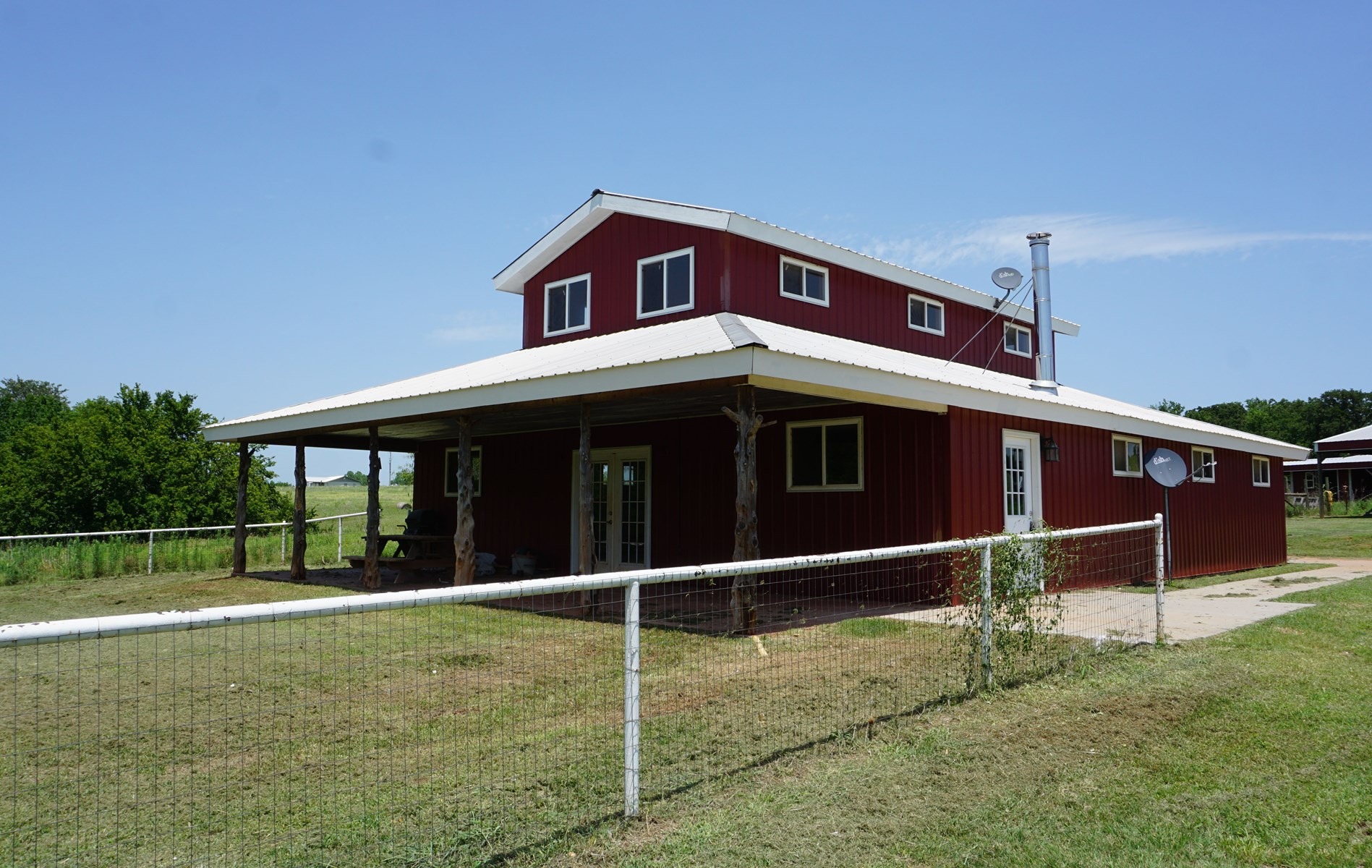 Livestock & Recreation Farm For Sale, Central Oklahoma