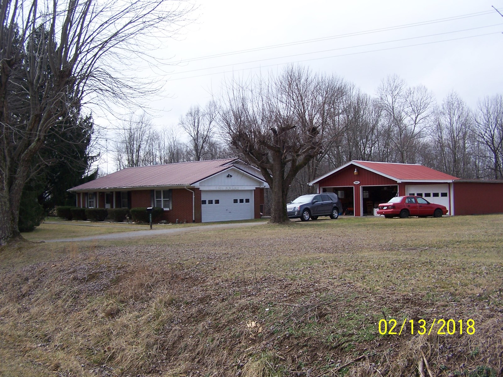 BRICK HOME WITH GARAGE & MOBILE HOME - KINGS MTN. KENTUCKY