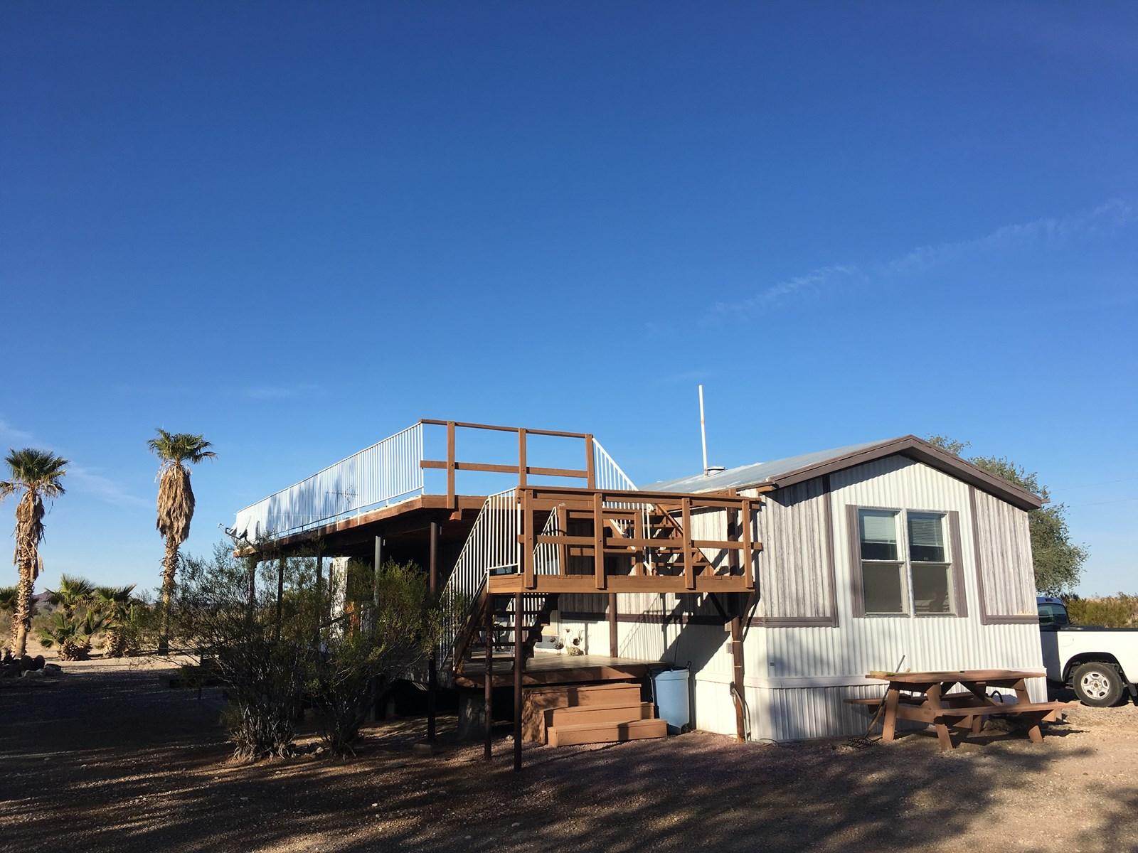 Bouse AZ 8 Acre Homesite with extra RV Hook Ups