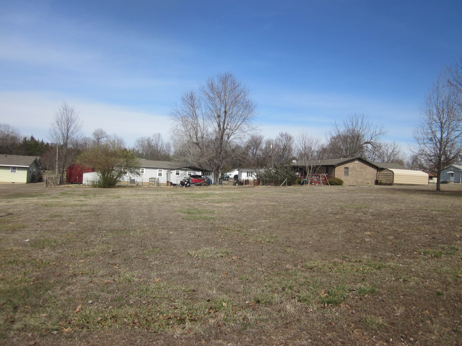 LOT FOR SALE IN GASSVILLE, ARKANSAS! ALL CITY SERVICES AVAIL