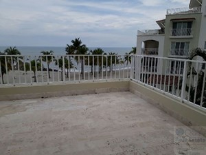 BEACH FRONT CONDO FOR RENT BUENA VENTURA PUNTA ARENA VILLAGE