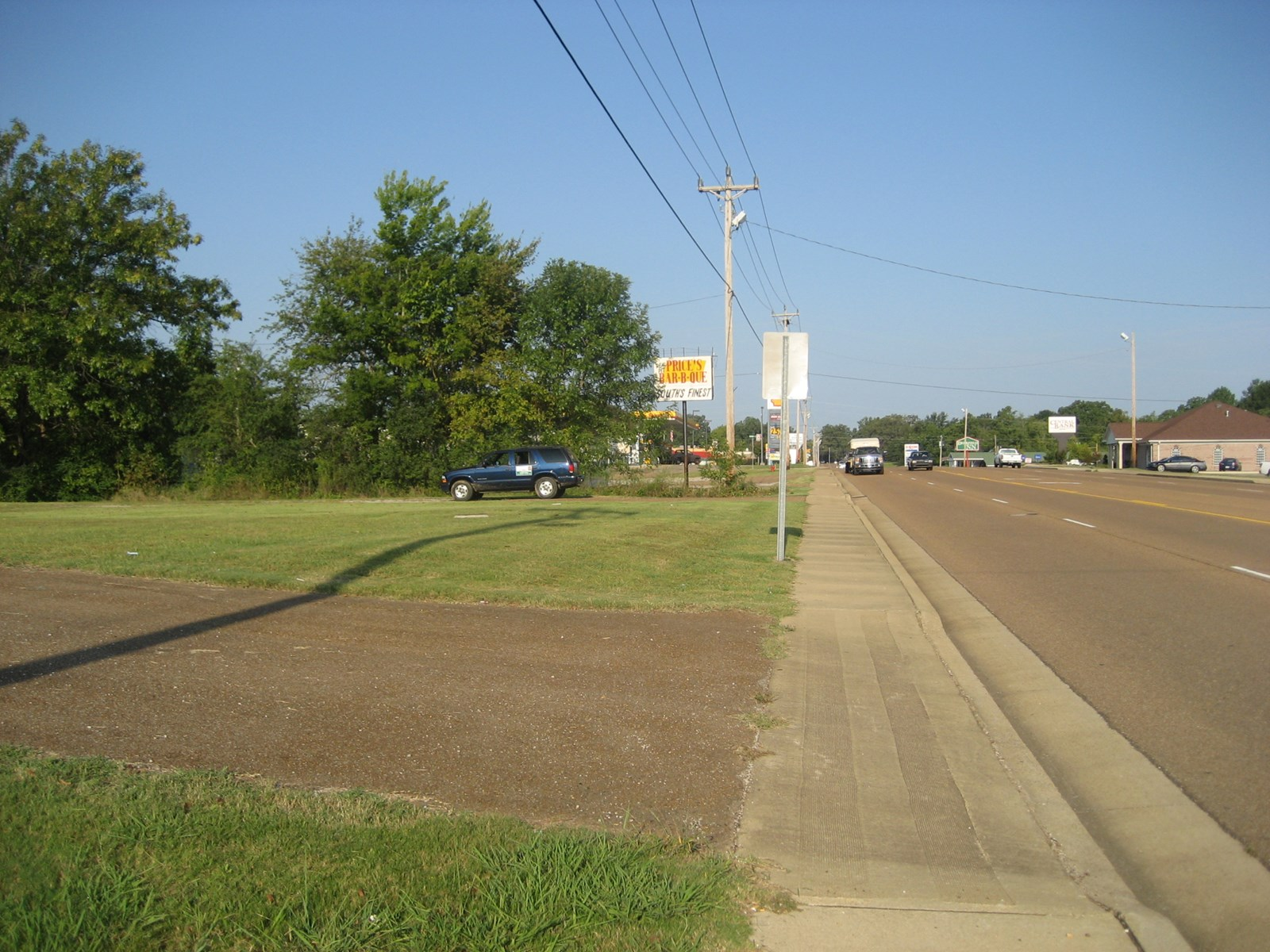 COMMERCIAL LAND IN ADAMSVILLE, TN GREAT DAILY TRAFFIC COUNT