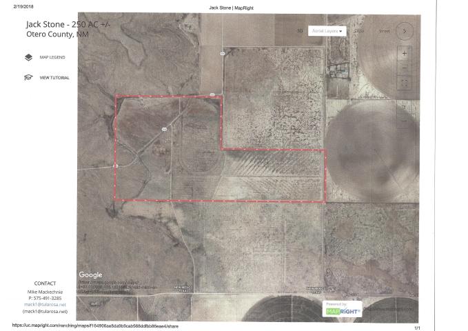 New Mexico Irrigated Farm Near Del City, Texas
